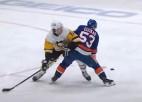 """Video: NHL nedēļas skaistākā ripa ielido Bļugera """"Penguins"""" vārtos"""