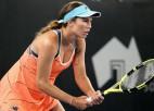 Kolinsa atspēlējas abos setos un pieveic WTA ranga līderi Bārtiju