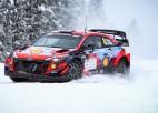 Lapzemes WRC treniņos ātrākais Tanaks, Noivils un Ekstroms <i>ielido</i> kupenās