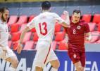 Latvijas izlase pret Spāniju cieš lielāko zaudējumu oficiālā spēlē