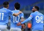 """""""Lazio"""" uzvar ar grūtībām, """"Atalanta"""" iesit trīs otrajā puslaikā"""