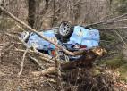 Īru sportistam gatavošanās Horvātijas WRC rallijam beidzas ar avāriju (+video)