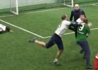 Video: Futbola kaislības izraisa nekārtības