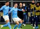 """Foudenam vēlreiz uzvaras vārti, """"City"""" pirmais ČL pusfināls kopš 2016. gada"""