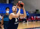 Laksas debijā ''Estudiantes'' zaudē Kuruca ''Baskonia'', <i>Bērzam</i> 13 punkti Lietuvā