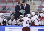 Nosaukts U18 hokeja izlases sastāvs gaidāmajam PČ elites grupā