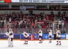 Video: Latvijas hokejisti minimāli piekāpjas Vācijai un netiek mājas PČ ceturtdaļfinālā