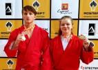 Latvijas sambistiem Eiropas čempionātā pilns medaļu komplekts