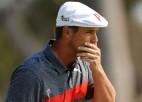 """""""US Open"""" čempionam Dešambo sešu sitienu deficīts pirmajā dienā Kalifornijā"""