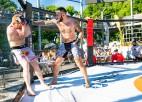 MMA cīkstonis Rihards Biģis izcīna astoto uzvaru pēc kārtas