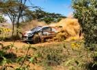 WRC posmā Āfrikā pēc Noivila izstāšanās uzvaru izrauj Ožjē