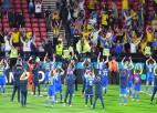 """Video: """"Euro 2020"""" pēdējā astotdaļfinālā Ukraina izrauj uzvaru papildlaika izskaņā"""
