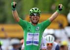 """Kavendišs 32. reizi triumfē """"Tour de France"""" posmā, Skujiņš ārpus """"top 90"""""""