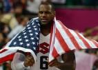 ASV izlase nelolo cerības vēl kādreiz redzēt Lebronu Džeimsu olimpiskajās spēlēs