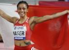 Pasaules čempione 400 metros antidopinga pārkāpumu dēļ diskvalificēta no Tokijas spēlēm