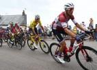 ''Tour de France'' septītajā posmā Skujiņam lielisks sniegums un 11. vieta