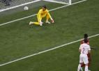 """Video: """"Euro 2020"""" pirmajā ceturtdaļfinālā Spānija triumfē pēcspēles 11m sitienos"""