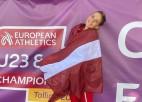 Trīssoļlēcēja Lasmane izcīna U23 Eiropas čempionāta bronzu