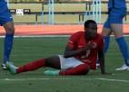 """Video: """"Spartaks"""" izsēj pārsvaru un piekāpjas RFS"""