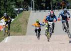 Spraigas cīņas Latvijas BMX kausa Ventspils posmā