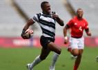 Olimpiskā čempione Fidži turpina perfekti, Lielbritānija fantastiski atgūstas