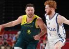 Austrālija notur pārsvaru un aptur jauno itāļu <i>duo</i>, Francijai otrā uzvara