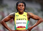Sprinta karaliene Tompsone-Hera triumfē arī 200 metros un izcīna ceturto olimpisko zeltu