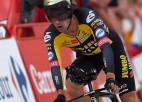 ''Vuelta a Espana'' sākas ar Rogliča uzvaru individuālajā braucienā