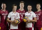 Nosaukts Latvijas volejbola izlases sastāvs Eiropas čempionātam