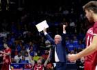 Video: Latvijas volejbolisti ar uzvaru atgriežas EČ finālturnīrā pēc 26 gadu pārtraukuma