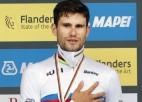 Ganna nosargā pasaules čempiona titulu individuālajā braucienā