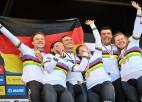 Martina pēdējā startā Vācija kļūst par pasaules čempioniem jaukto komandu sacensībās
