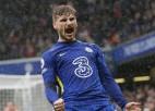 """Verneram uzvaras vārti """"Chelsea"""" panākumā, ''Brighton'' un ''Arsenal'' spēlē neizšķirti"""