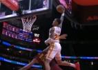 """Video: NBA pirmssezonas momentos un dankos uzvar """"Hawks"""" spēlētājs"""
