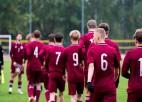 Latvijas U-17 izlase pabeigs iesākto kvalifikācijas turnīru
