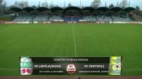 SynotTip futbola virslīga: FK Liepāja/Mogo - FK Ventspils.Spēles ieraksts