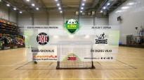 Elvi florbola līga: FK Kurši/Ekovalis - FK Ogres vilki. Spēles ieraksts