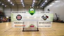 Elvi florbola līga: FK Kurši/Ekovalis - Betsafe/Ulbroka. Spēles ieraksts