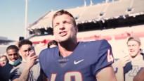 NFL zvaigzne tver no helikoptera nomestu bumbu, sasniedzot pasaules rekordu