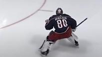 NHL starta nedēļas labākajos atvairījumos arī Merzļikins ar Kivlenieka numuru