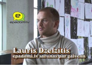 """Video: """"Vidējais aritmētiskais vienmēr ir pilnīgi nejēdzīgs..."""": intervija ar aktieri Lauri Dzelzīti"""