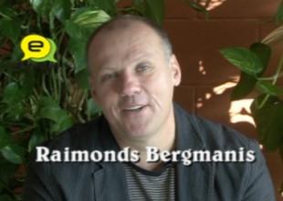 """Video: """"Latviešiem ir švaki ar fizisko sagatavotību un humoru..."""":intervija ar Raimondu Bergmani"""