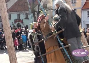 Video: Rīgā sāk svinēt Lielo dienu jau sešos no rīta
