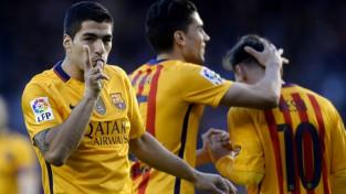 """""""Barcelona"""" atgūstas ar 8:0 uzvaru un Svaresa <i>pokeru</i>"""