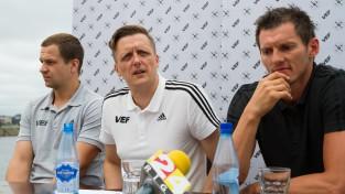 """Jaunups: """"Negrasāmies iet prom no VTB līgas"""""""