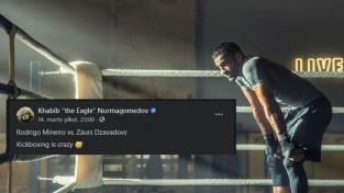 """""""Kikbokss ir traks"""": UFC superzvaigzne Habibs atzīmē Zaura skaistu uzvaru"""