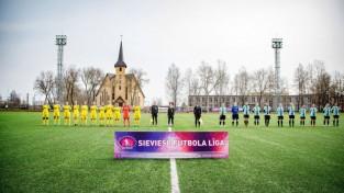 ''Olaine'' sieviešu futbola līgā svin pirmo uzvaru pār ''Audu''