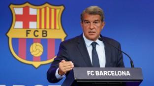 """""""Barcelona"""" prezidents Laporta: """"Grīzmana došanās prom neuzlabotu Mesi situāciju"""""""