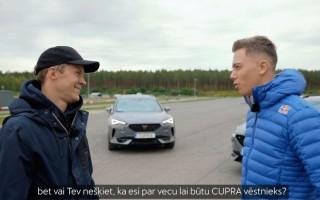 Video: Sesks bravūrīgi izaicina autosporta zvaigzni Ekstromu uz derībām