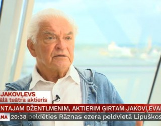Video: Elegantajam džentlmenim, aktierim Ģirtam Jakovļevam – 80